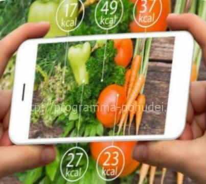 Как высчитать калорийность продукта, калькулятор