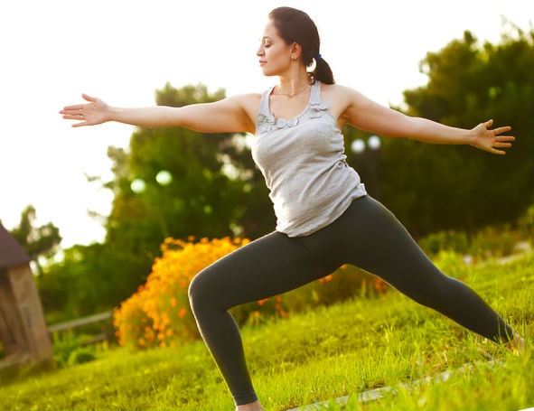 картинка Физическая активность полных людей