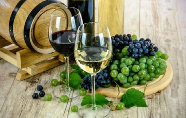 Какие продукты запрещены при похудении, вино