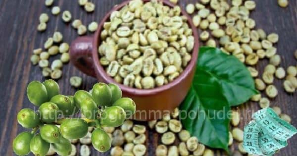 Натуральный зеленый кофе, зерна