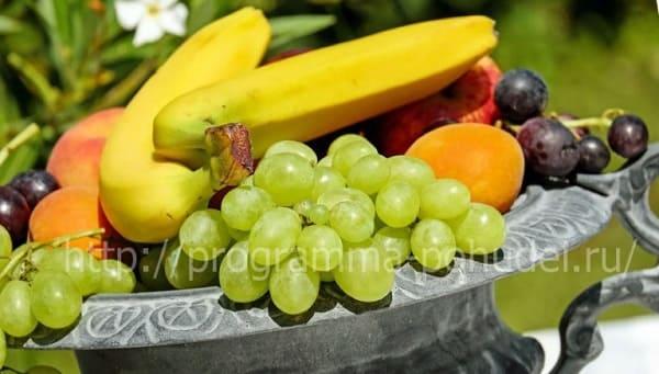 Полезные фрукты для похудения, картинка