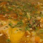 Рецепт вкусного мясного супа, картинка