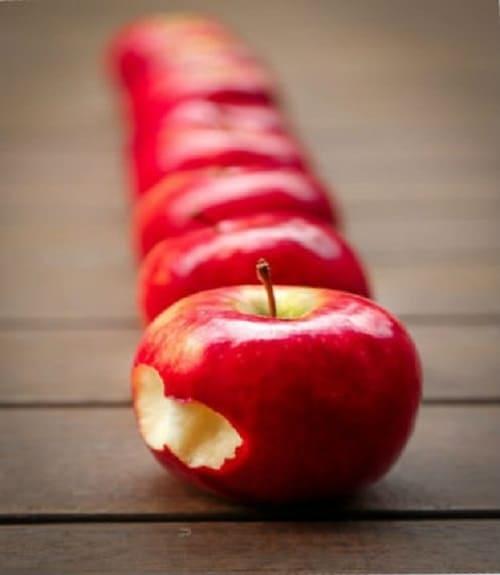 как правильно похудеть без спорта, яблоки