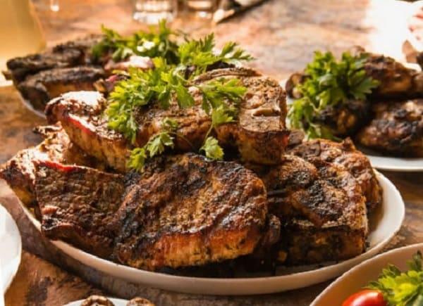 самое высокое содержание белка, мясо