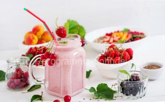 Cписок калорийности продуктов в 100 граммах, картинка
