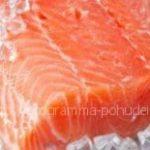 Красная рыба — продукт богатый протеинами, белок