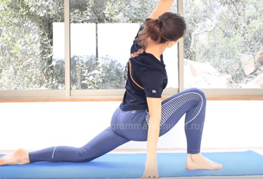 упражнения на гибкость спины для начинающих, растяжка