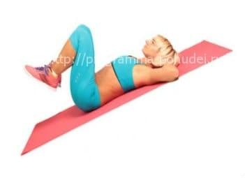 10 упражнений для похудения дома