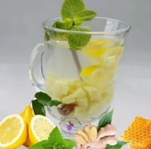 Как сделать напиток из имбиря для похудения, имбирь