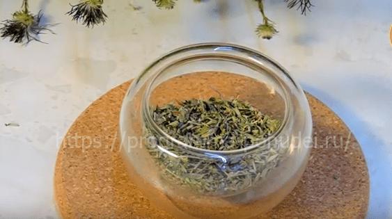 как правильно заварить чай из чабреца, картинка