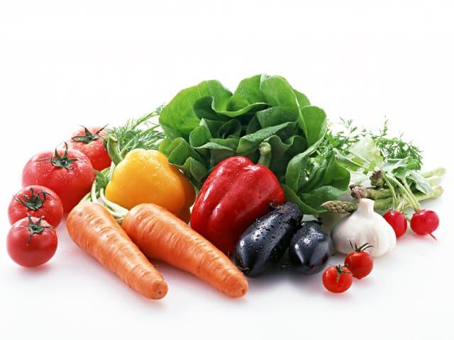 овощи, перец, морковь