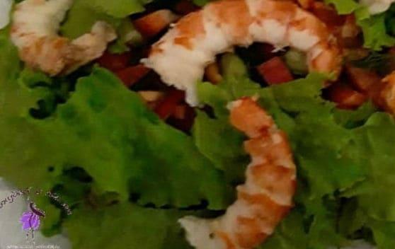 Полезное питание для похудения, диетический салат
