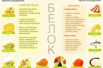 Белковая диета для похудения: меню на неделю, список разрешенных продуктов