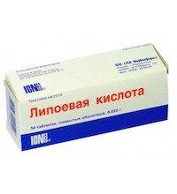 Липоевая кислота - инструкция по применению, описание, отзывы пациентов и врачей, аналоги