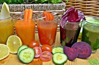 22 рецепта свежевыжатых соков для быстрого похудения из овощей и фруктов