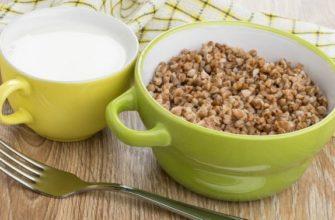 Гречка с кефиром для похудения: варианты диет, рецепты приготовления, результаты