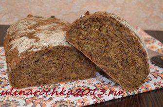 "Хлеб ""Карельский"" с изюмом и мёдом ⋆ Готовим вкусно, красиво и по-домашнему"