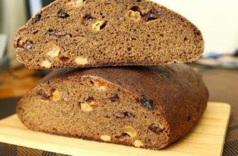 Хлеб ржаной с изюмом на закваске - рецепт с фото, видео