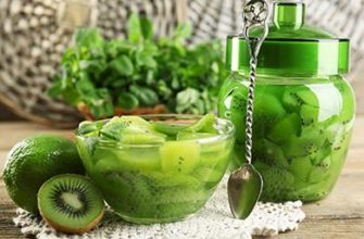 Варенье из киви: рецепт на зиму с желатином, без варки, с лимоном, как сделать очень вкусное и необычайно красивое лакомство + отзывы