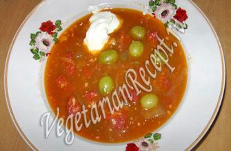 Вегетарианская солянка диетическая: варианты рецептов